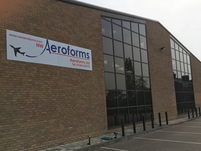 North Wales Aeroforms - Exterior